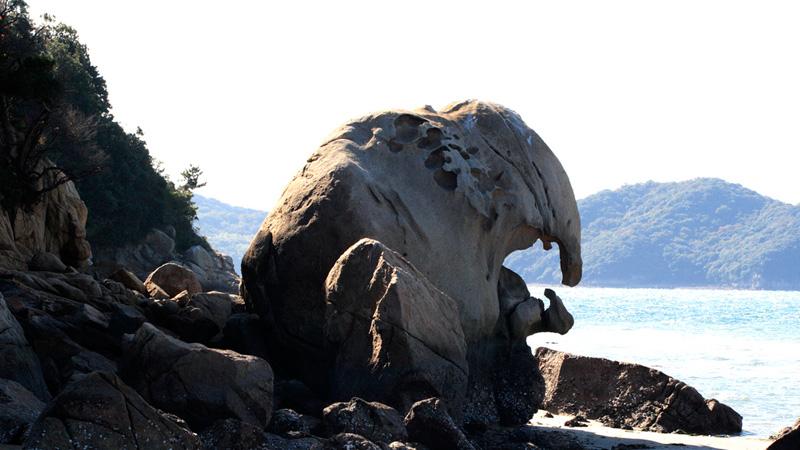 六口島(象岩)