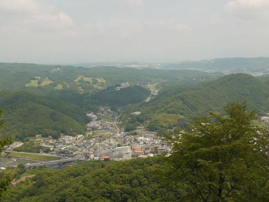 大山展望台(あじさいロード)
