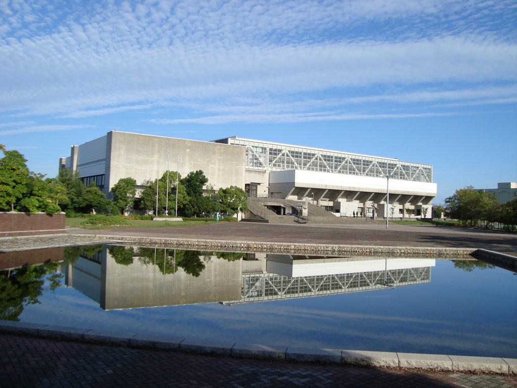 岡山市総合文化体育館(浦安体育館)