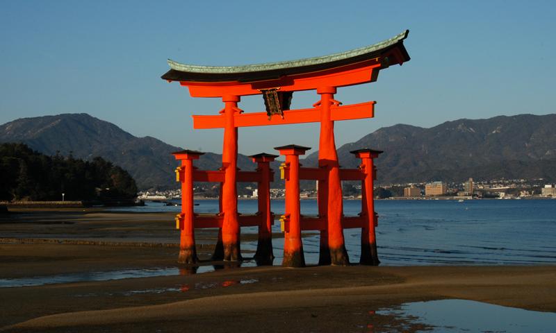 011 平清盛を偲ぶ世界遺産厳島(宮島)と錦帯橋
