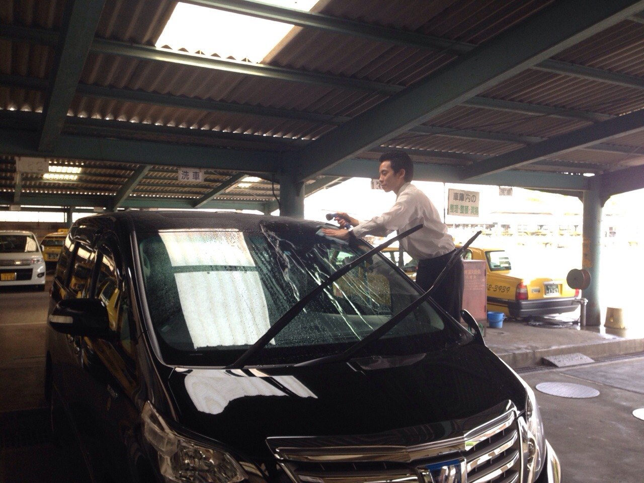 KATSU洗車1