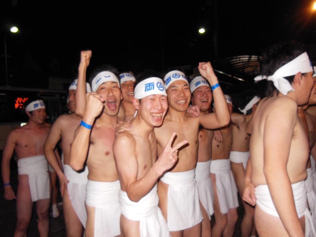 KATSU裸祭り前